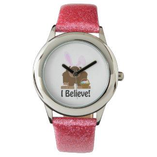 I Believe! Easter Bigfoot Wrist Watch