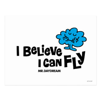 I Believe I Can Fly Post Card