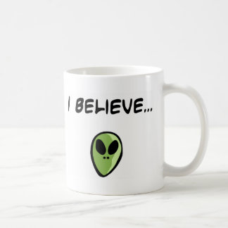 I Believe in Aliens Coffee Mug