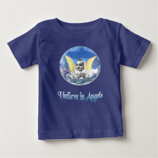 I believe in angels baby T-Shirt