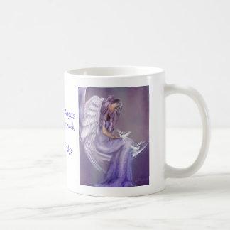 I Believe In Angels Classic White Coffee Mug