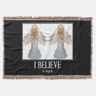 I believe in angels throw