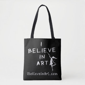 I Believe In Art Promotional Tote Bag