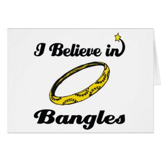 i believe in bangles card