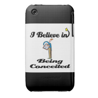 i believe in being conceited iPhone 3 cover