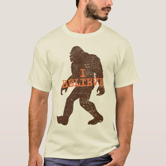 I Believe (in Bigfoot) T-shirt