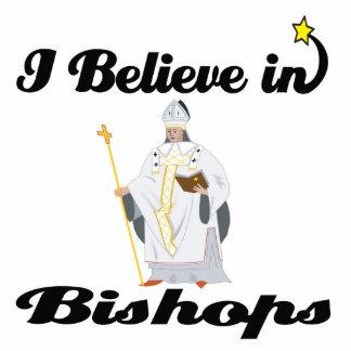 i believe in bishops photo sculptures