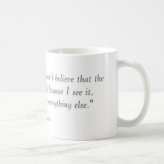 """I believe in Christianity as I believe that th... Coffee Mug"