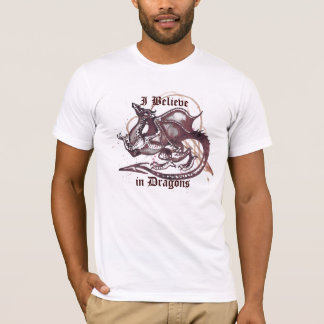 I Believe in Dragons Light T-Shirt