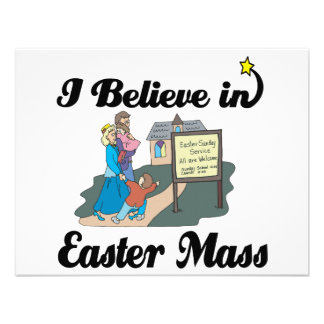 i believe in easter mass announcements