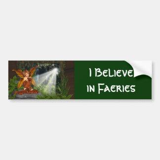 I believe in Faeries Bumper Stickers
