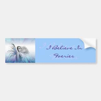 """""""I Believe in Faeries"""" Bumper Sticker"""