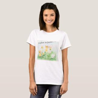 I believe in faeries t-shirt