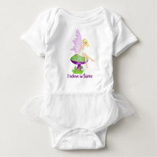 I believe in fairies baby tutu baby bodysuit