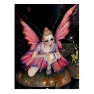 I believe in fairies postcard