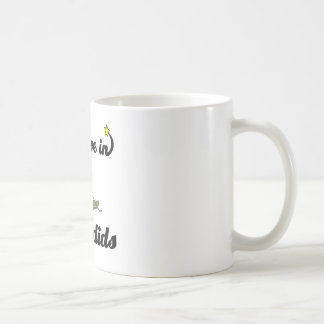 i believe in katydids coffee mug