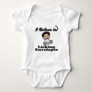 i believe in licking envelopes t-shirt