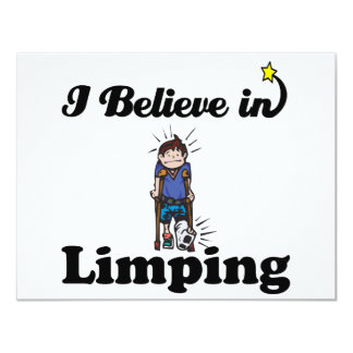i believe in limping announcement