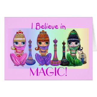 I Believe in Magic! Card