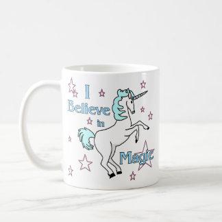 I Believe In Magic Unicorn Coffee Mug