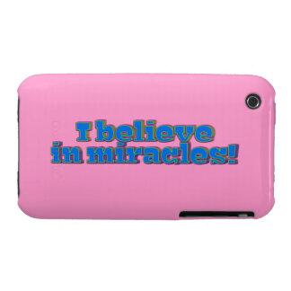 I Believe in Miracles! Case-Mate iPhone 3 Cases
