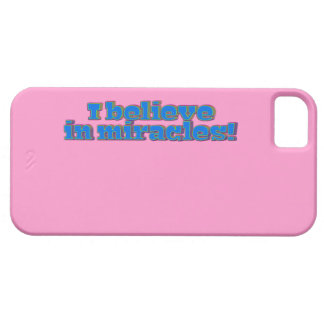 I Believe in Miracles! iPhone 5 Covers