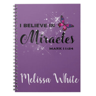 I believe in miracles notebooks
