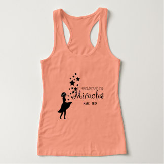 I believe in miracles tank top