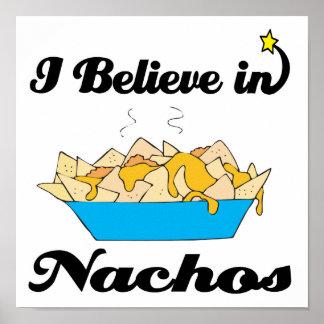 i believe in nachos poster