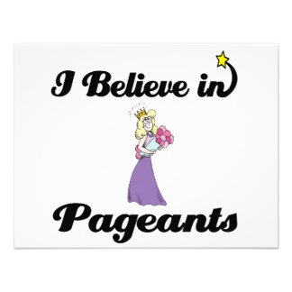 i believe in pageants announcement