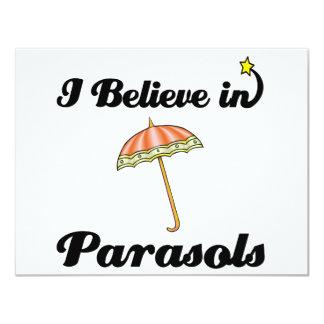 i believe in parasols custom announcement