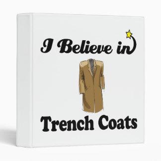 i believe in trench coats binders