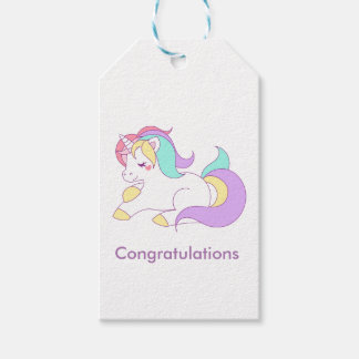 I believe in Unicorns Pack Of Gift Tags