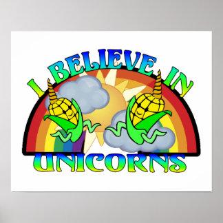 I Believe In Unicorns Poster
