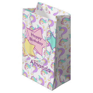 I believe in Unicorns Small Gift Bag