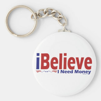 I Believe Keychain