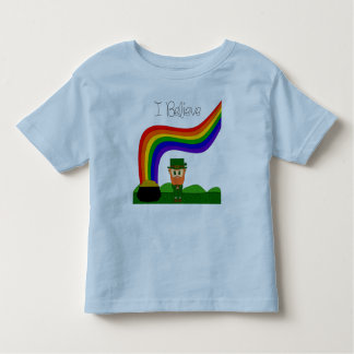 I Believe - Leprechaun Toddler T-shirt