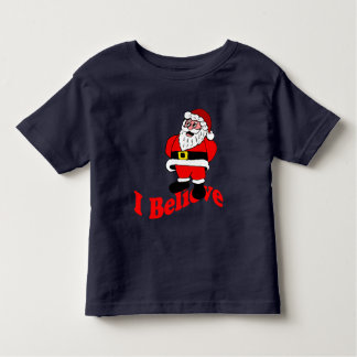 I Believe Santa Claus Toddler T-shirt