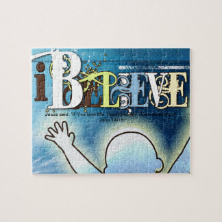 I Believe - Template Poster - Christian Puzzle