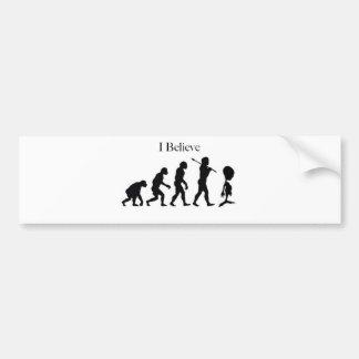 I Believe - UFO Bumper Sticker