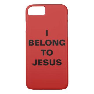 """""""I Belong To Jesus"""" Apple iPhone 8/7 Case"""