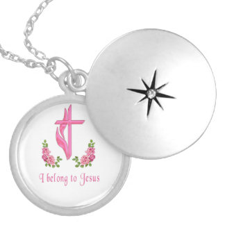 I belong to Jesus Locket Necklace