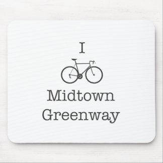 I Bike Midtown Greenway Mouse Pad