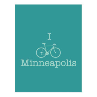 I Bike Minneapolis Postcard