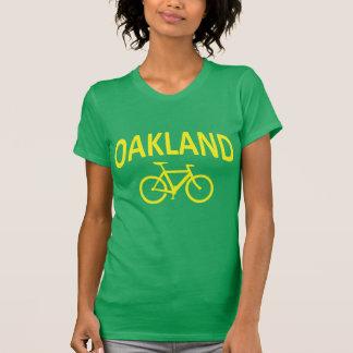 I Bike OAKLAND - Fixie Bike Design Tee Shirt