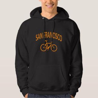 I Bike San Francisco - Fixie Bike Design Hooded Pullover