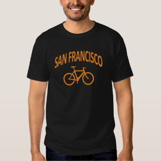 I Bike San Francisco - Fixie Bike Design T-Shirt