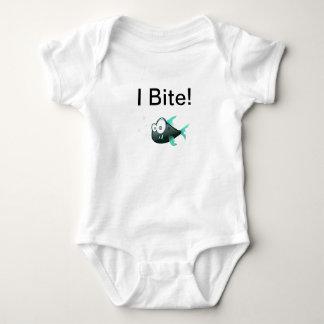 I Bite infant tee pirahna
