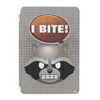 """I Bite"" Rocket Emoji iPad Mini Cover"