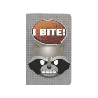 """I Bite"" Rocket Emoji Journal"